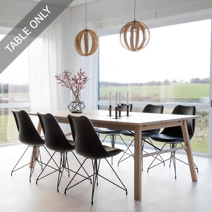 INTERSTIL Carver-TB-Oak 6인8인용 원목 식탁 테이블 식탁/입식테이블, 본품