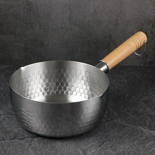 스텐 햄머 편수냄비 (3사이즈) 인덕션 라면 냄비, 18cm, 햄머편수냄비