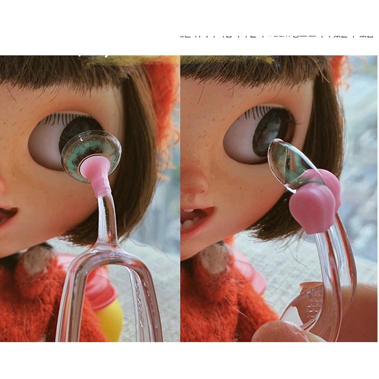 주앤필 렌즈집게 렌즈끼는 빼는 도구(색상랜덤), 상세, 1개