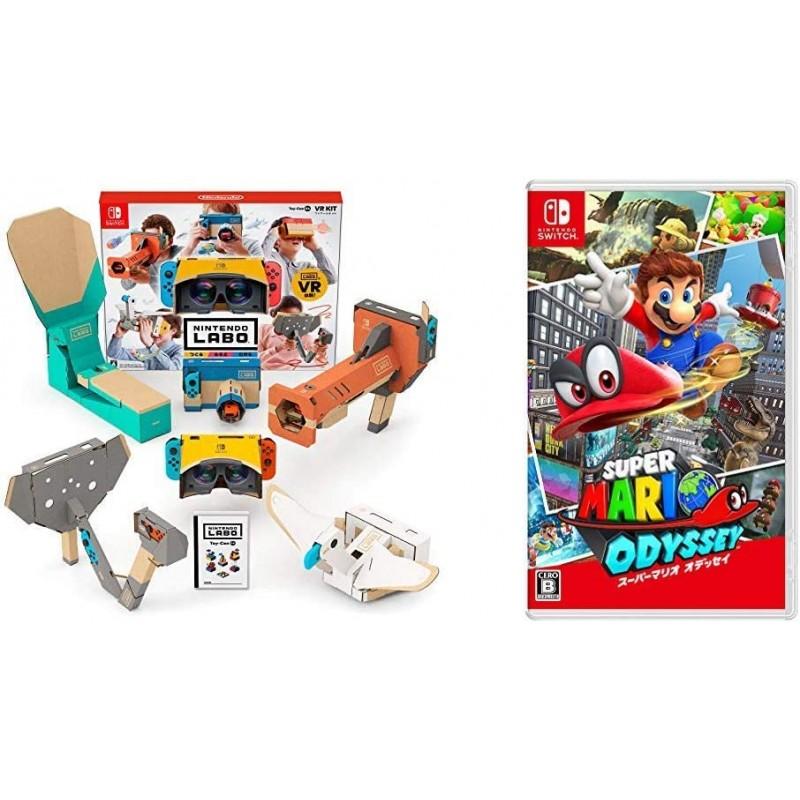 Nintendo Labo (닌텐도 연구소) Toy-Con 04 : VR Kit -Switch + 슈퍼 마리오 오디세이 - Switch, 단일상품