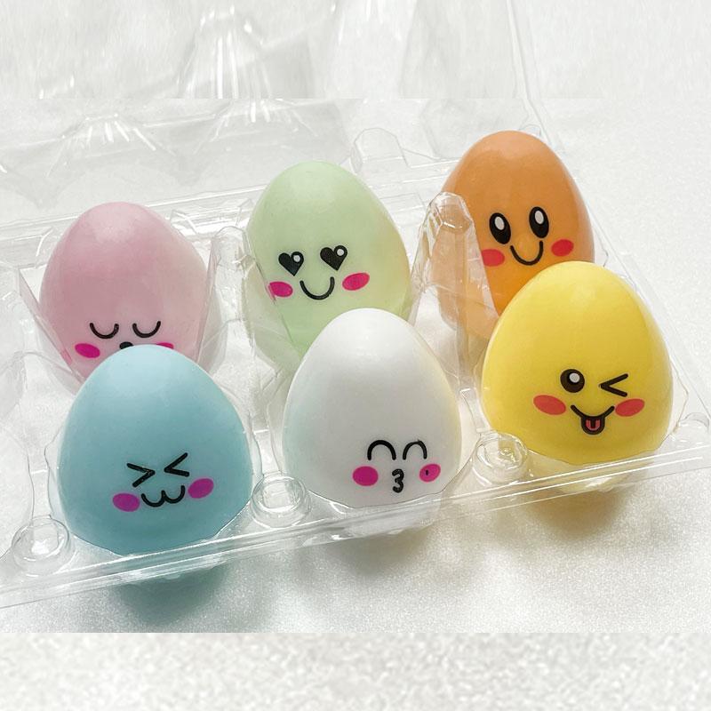 심쿵란 계란 말랑이 찐득이 찐득볼 에그 점토 끈끈이, 랜덤