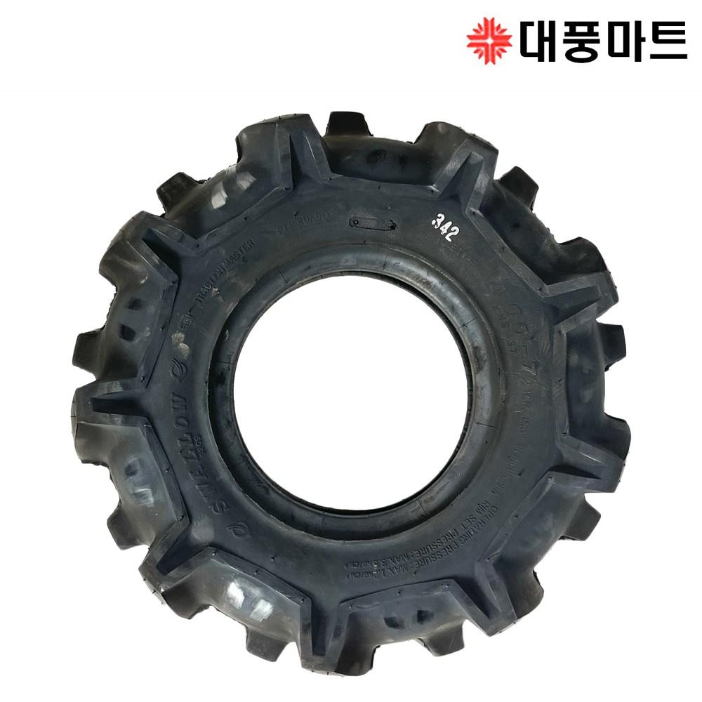 아세아 관리기 바퀴 타이어 튜브 부품 부속 4.00-7 농기계/대풍마트 (POP 5285104783)