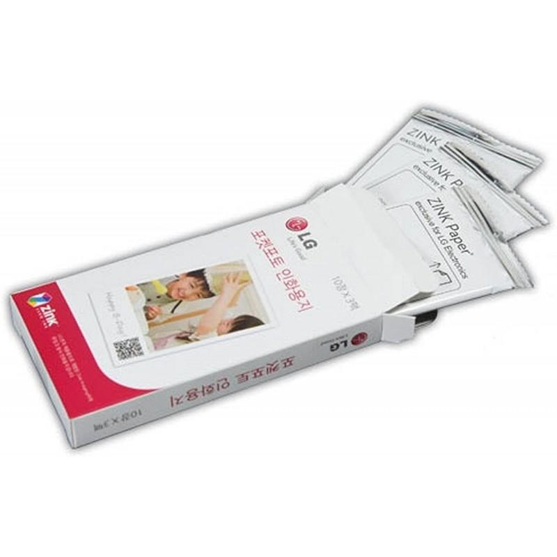 LG 전자 포켓 포토 프린터 용 포켓 포토 용지 30 매 2x3