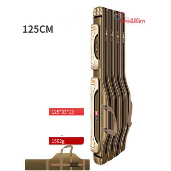 리앤킴 대용량 2~4단 방수 낚시 가방 MA2354, 모델B 4단