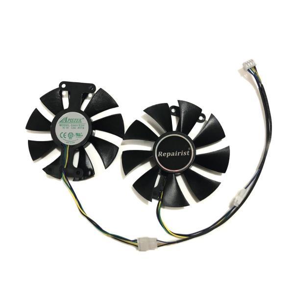 2 개/대 GA91S2H GeForce GTX 950 960 1050 1060 ZOTAC GTX1050Ti X-Gaming GTX760 2GD5 HB VGA 카드 냉각, 한개옵션0