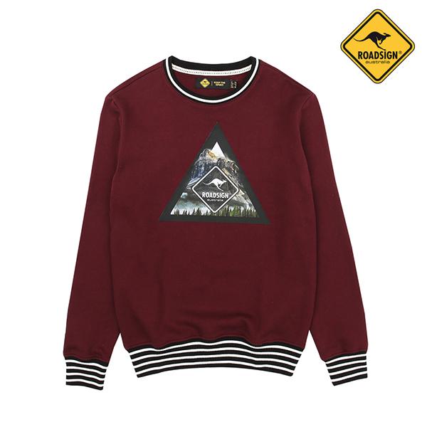 로드사인 [로드사인] P 남성 트라이앵글 로고 티셔츠-RDTZ611A_BD