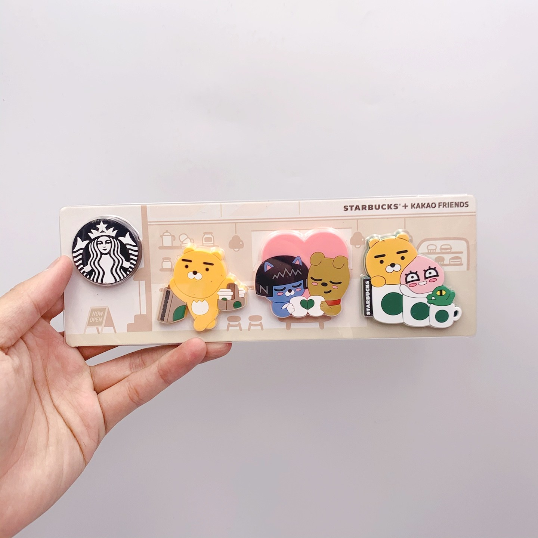해외 열쇠고리 베이브릭 키링 포포베 키홀더 곰돌이 캐릭터 2020 스타벅스크리스마스 선물 곰 럭셔리 자석 냉장고, 옵션33, 단일옵션