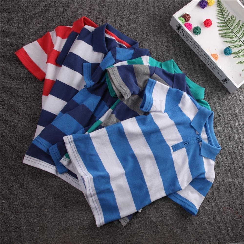 kirahosi 남아 반팔 티셔츠 아동복 여름 반팔 폴로 67호+ 덧신 증정 ANocuirt