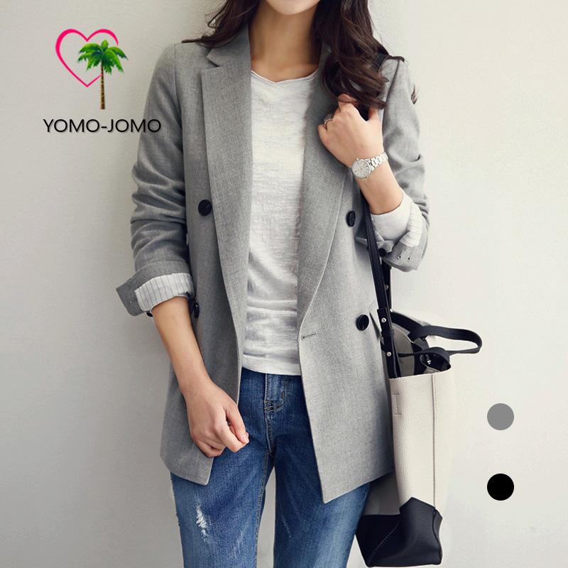 요모조모 YJS 1264 클래식 봄 가을 정장 자켓