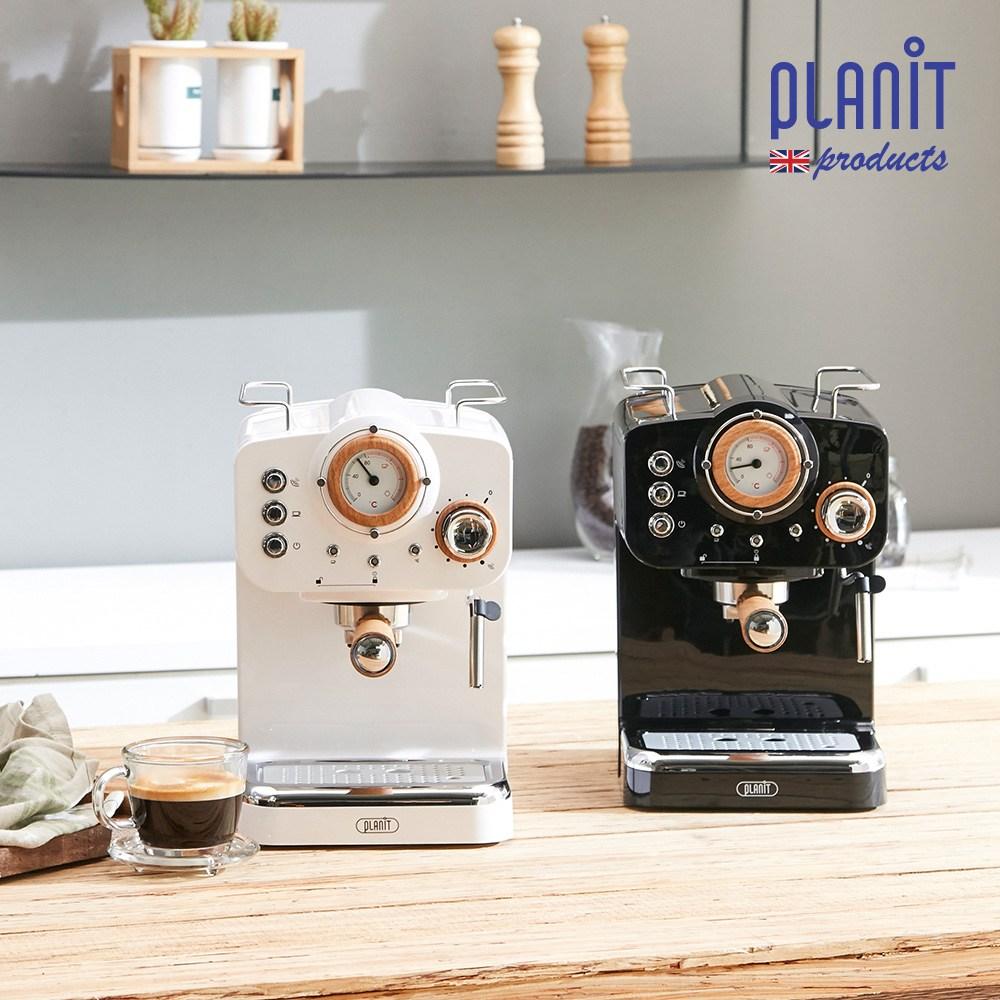 커피머신 홈카페프레소 노르딕 PCM-NF15 + 사은품 원두3팩, 커피머신 노르딕 우드블랙