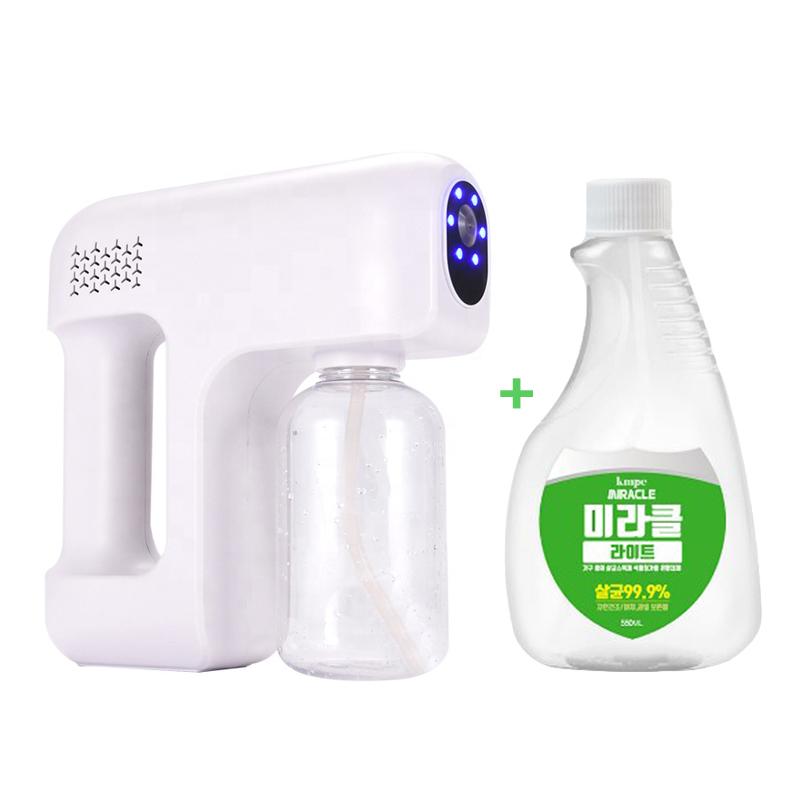 CD-06 휴대용 자동 무선 방역 스프레이 소독기 차량용 가정용 식당 애완견 AS가능, 화이트 (POP 5190161987)