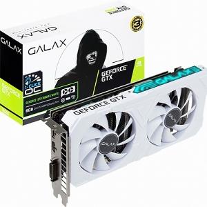 238 비상커머스 / Galaxy GeForce GTX 1660 WHITE D EX D5 6GB PC액세서리 프린터용품 컴퓨터용품 그래픽카드, 단일 모델명/품번