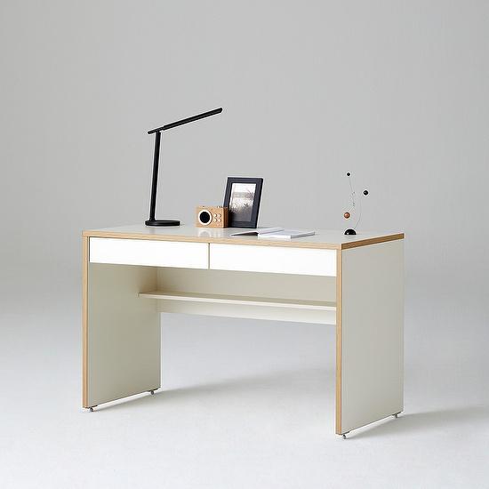 한샘 샘 책상 120cm 책상서랍형 시공(컬러 택1), 색상:메이플(B)