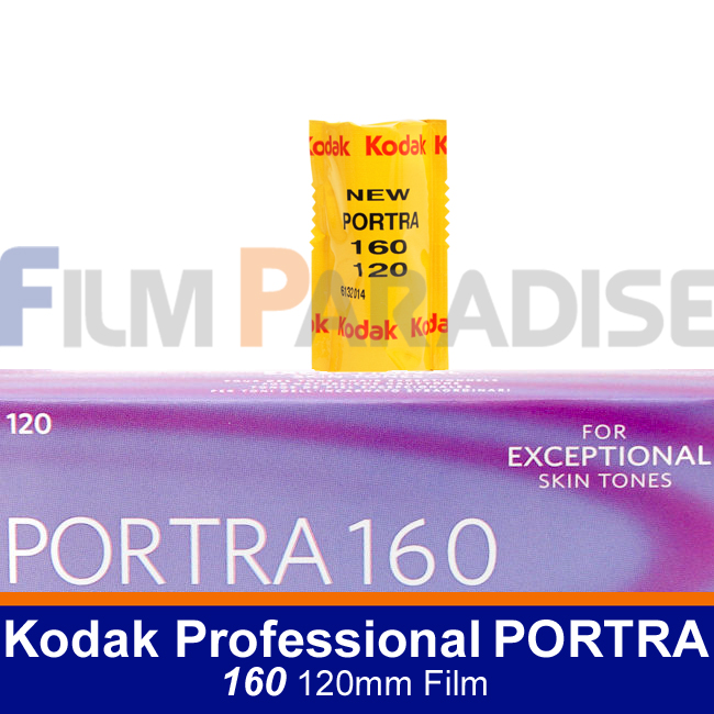 Kodak 코닥 중형컬러필름 네거티브 포트라 160/120mm [PORTRA 160 120mm Film/22년07월]