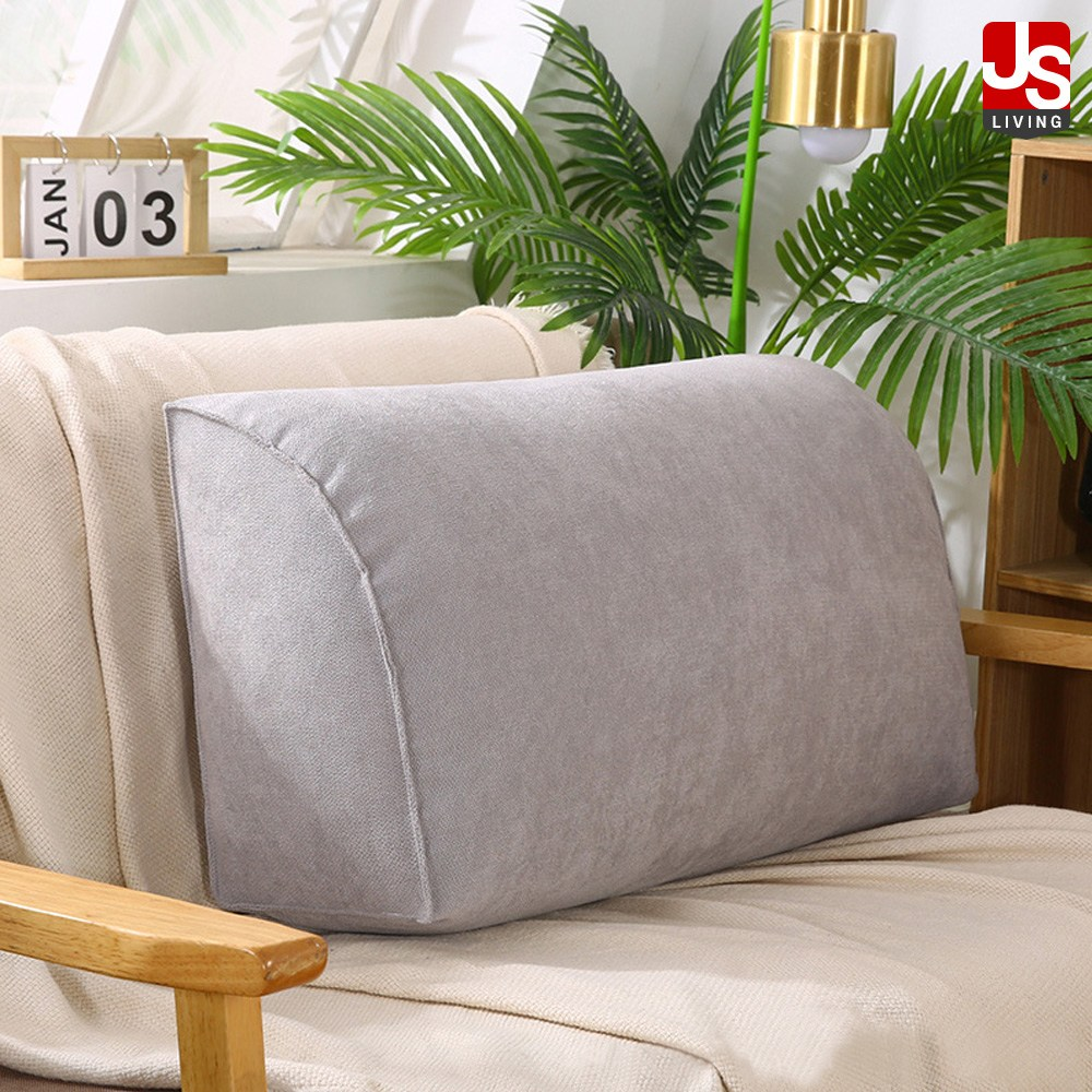 JS리빙 등쿠션 등받이 쿠션 삼각 침대 의자 소형 중형 대형 사무실 거실 소파 북유럽 인테리어 헤드 롱쿠션 QET-123121, 샌디 쿠션 (POP 5803403059)