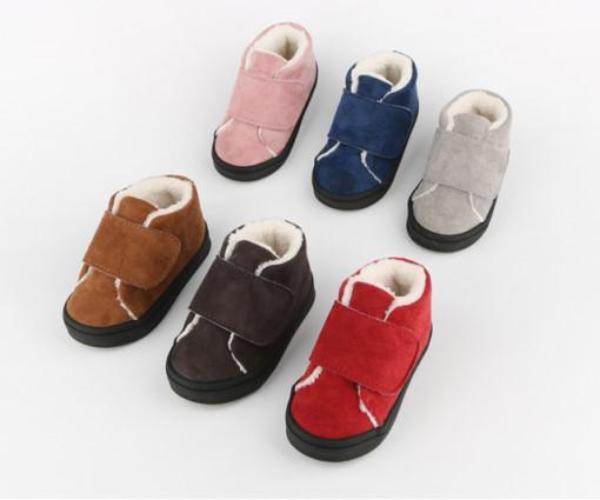 바나나클럽 아기 유아 겨울 털신발 이뿌다 방한 스니커즈