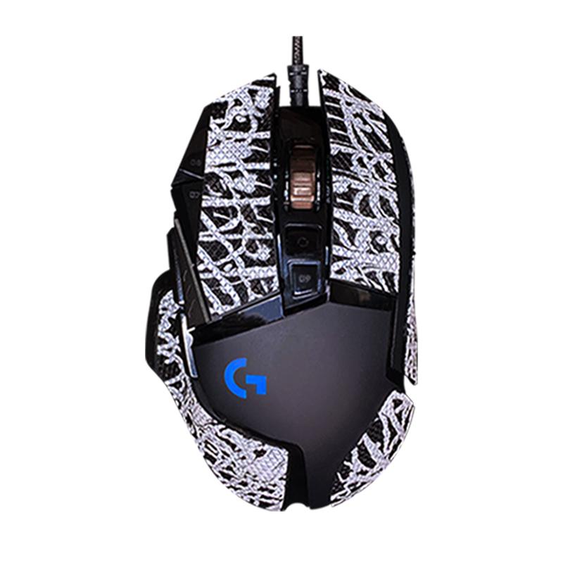 단비오빠 로지텍 G502 게이밍 마우스 논슬립 보호 데칼 테프론 패킹 그라인딩텍 필름 스티커, 1세트, G