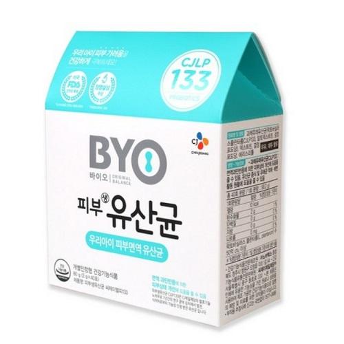 BYO 피부 어린이유산균 2g, 80g, 3개