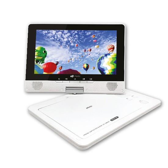 인비오 PD-2000HD 휴대용 DVD 플레이어 HD출력, 핑크