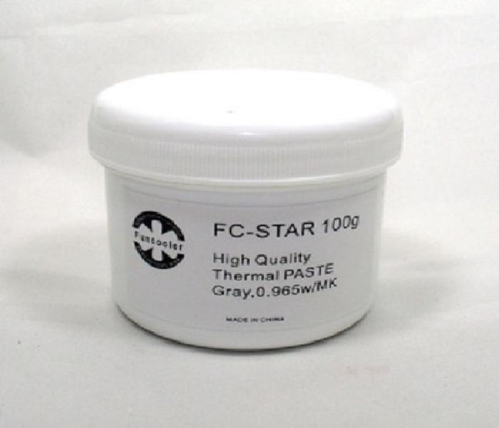 FC-STAR 100g Glay 고급 써멀구리스, 해당없음