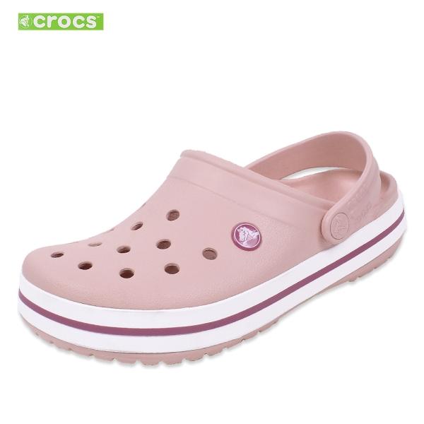 크록스 크룩스 크로밴드 클로그 샌들 펄핑크 남자 여자 11016-6MB 슬리퍼 신발