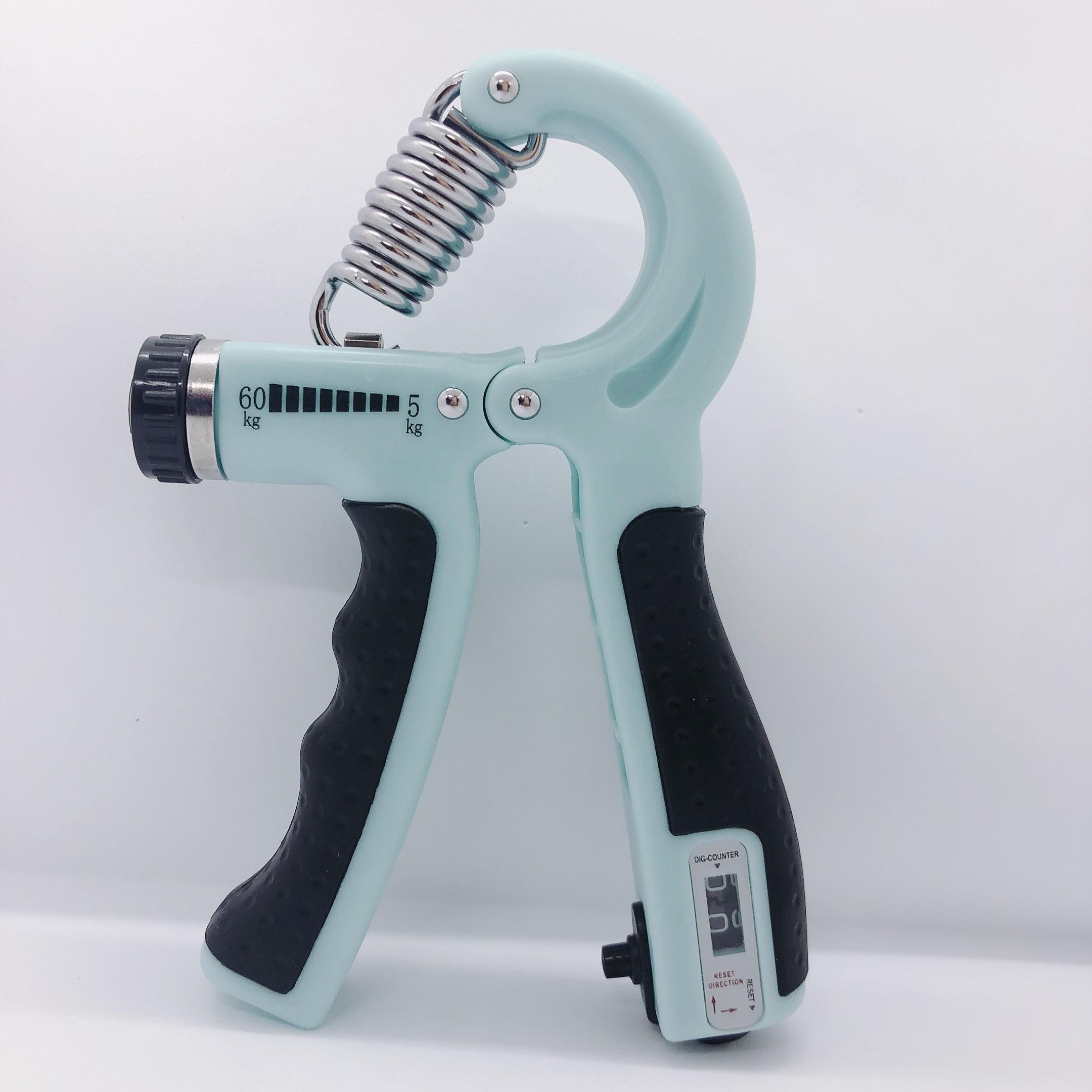 루이한 무소음 악력기 카운트 무게조절 5KG-60KG, 민트