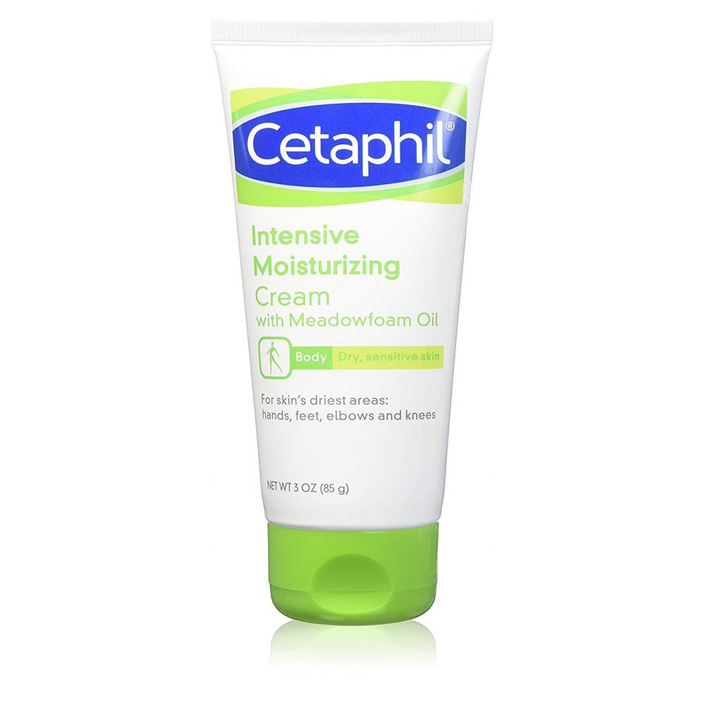 WHAT BOX Cetaphil Intensive Moisturizing Cream with Meadowfoam Oil 3 Oz 세타필 인텐