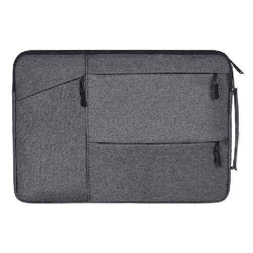 LG그램 맥북 17인치 16인치 15인치 14인치 13인치 파우치 노트북 케이스 손잡이 삼성 맥북프로 맥북에어 엘지그램, 딥그레이(B타입)