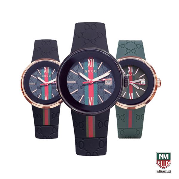 이럭스몰 [당일출고] GUOU 8192 Quartz Watch Two Sizes