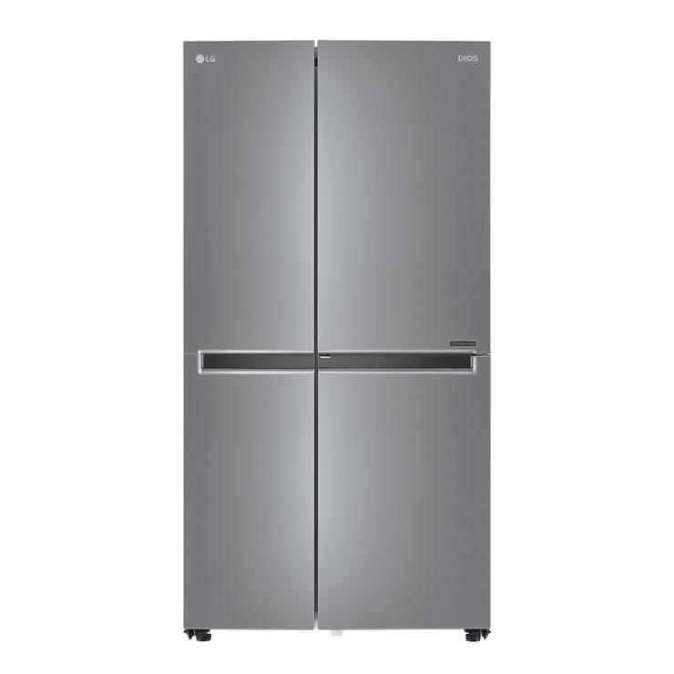 엘지 디오스 매직스페이스 양문형냉장고 S833SS32 821L