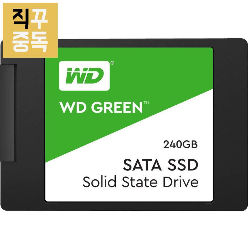 WD SSD Green 그린 240GB, 단품, 단품