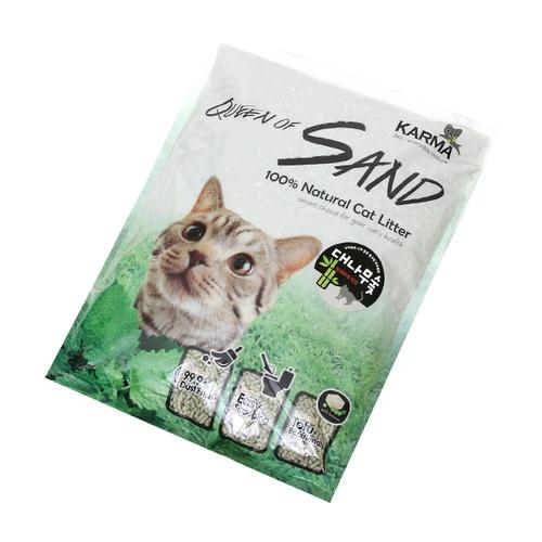 퀸오브샌드 고양이 두부모래 숯 7L, 1개