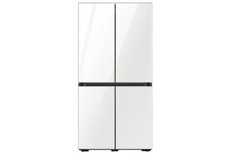 [1등급 환급모델]NEW 삼성 냉장고 비스포크 4도어 글라스 RF85T9111AP, 글램 화이트