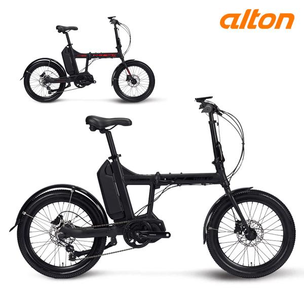 전기 자전거 2020 알톤 탈레스 FD500 파스 5단 접이식, 20 무광/레드 (파스)