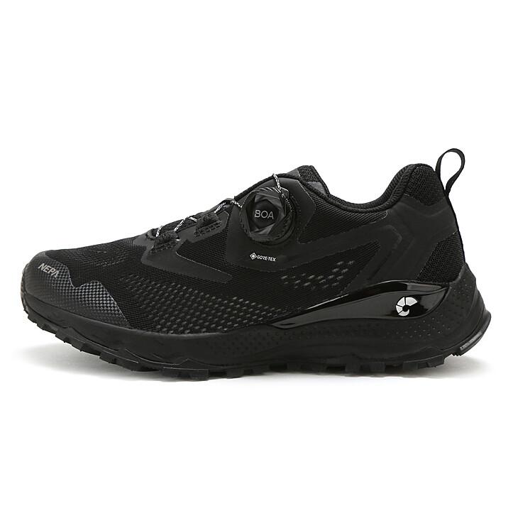 네파 TV광고 상품 전지현 신발 남여공용 방수 트래킹화 (블랙)