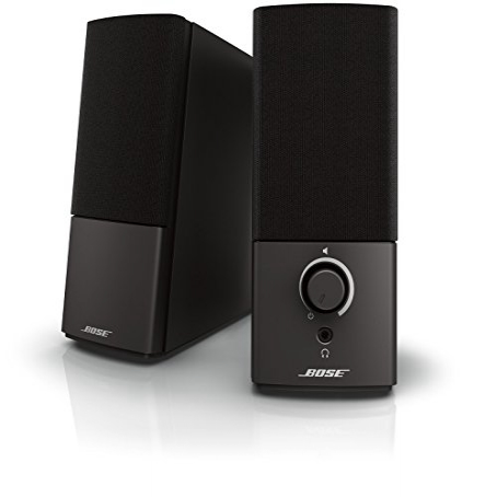 Bose Companion 2 Series III Multimedia Speakers - for PC (with 3.5mm AUX PC input) Bose Companion 2