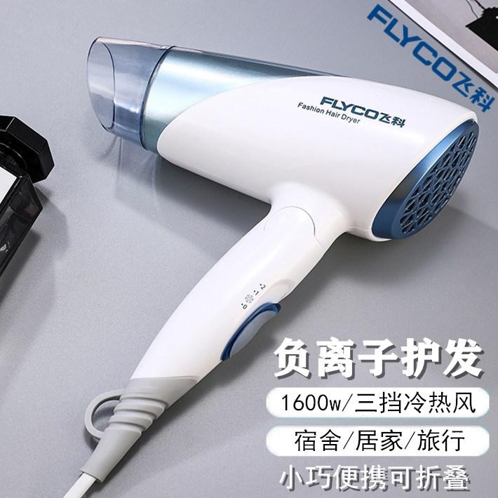 드라이기 FLYCO전기드라이 2200W가정용 접이식 강력파워 미용실 대출력 PH1612, FH6251— 접이식 음이온 포함