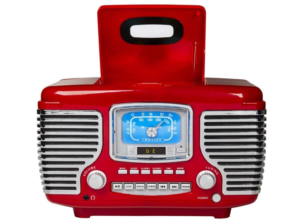 Crosley 라디오 CDP 알람 레트로 블루투스 스피커 #2, 단일상품