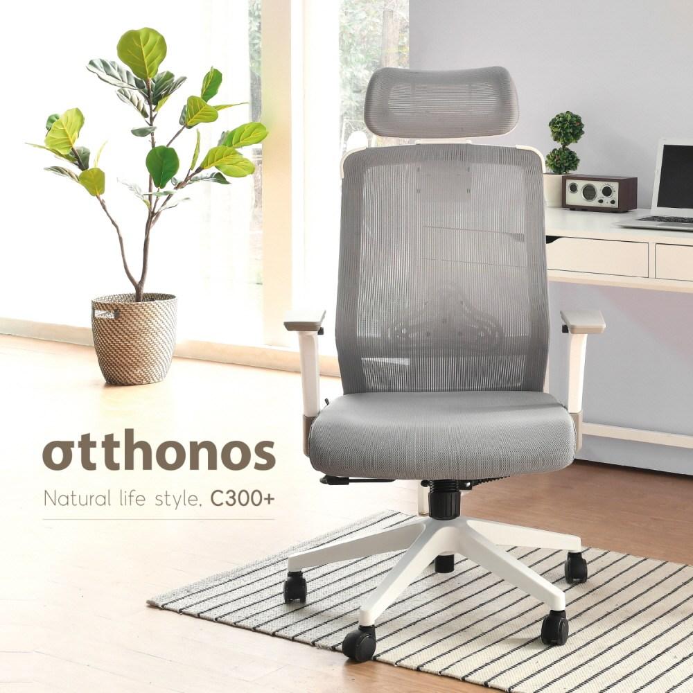 [오토노스] 내 몸에 꼭 맞는 C 300+ 학생의자 사무용의자 책상의자, 무, 무, 블랙바디+레드