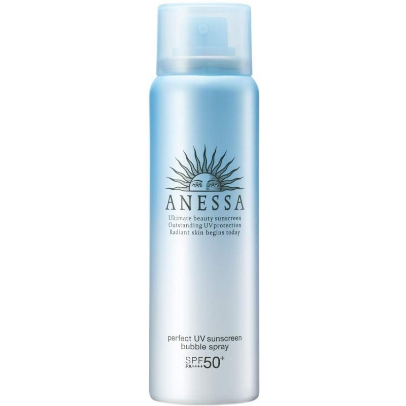 ANESSA (아넷사) 퍼펙트 UV 거품 스프레이 a 자외선 차단제 감귤 비누 향기 60g