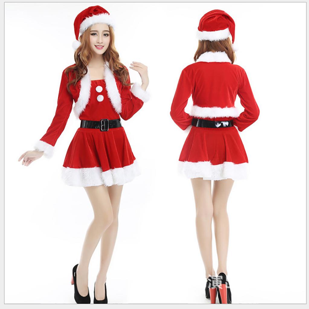 3H 크리스마스 옷 산타 할아버지옷 산타걸 코스프레 011