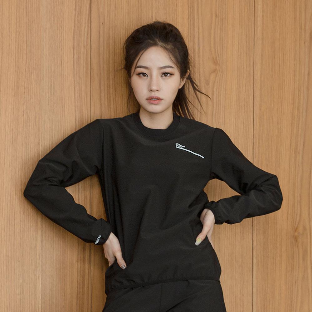 아빠빤쮸엄마브라 여성용 땀복 긴팔 티셔츠