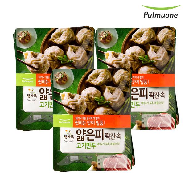 [풀무원]얇은피꽉찬속 고기만두 440gx6봉, 단품