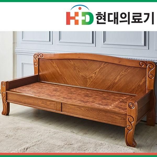 [현대의료기] 넝쿨카우치 황토볼 흙쇼파, 브라운