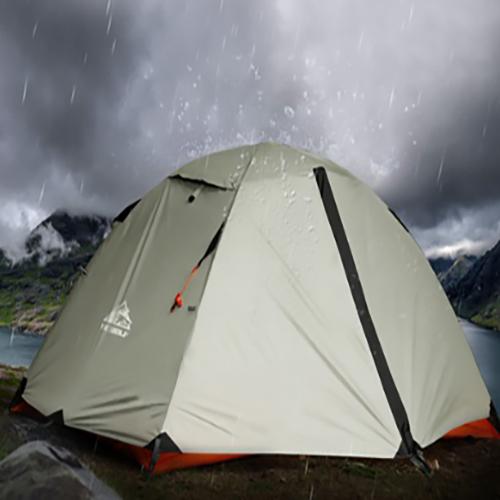 - 가성비 갑 [Hewolf] Outdoor Double Layer Tent 히울프 2인용 텐트 히울프텐트 2인텐트 백패킹텐트 가성비텐트, One Color,히울프텐트 (그라운드시트미포함), 상품상세참조