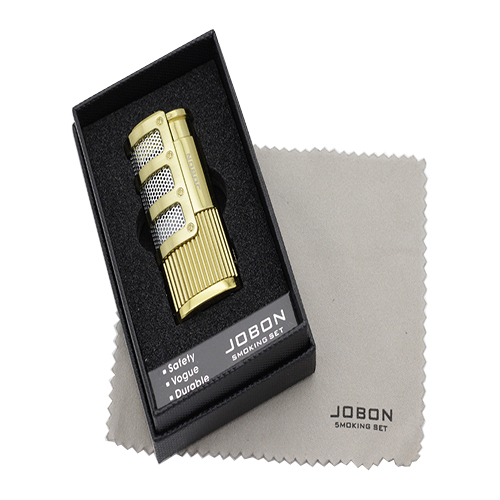JOBON 조본 선물용 3구 터보라이터 토치라이터 쑥뜸용 수지검사용