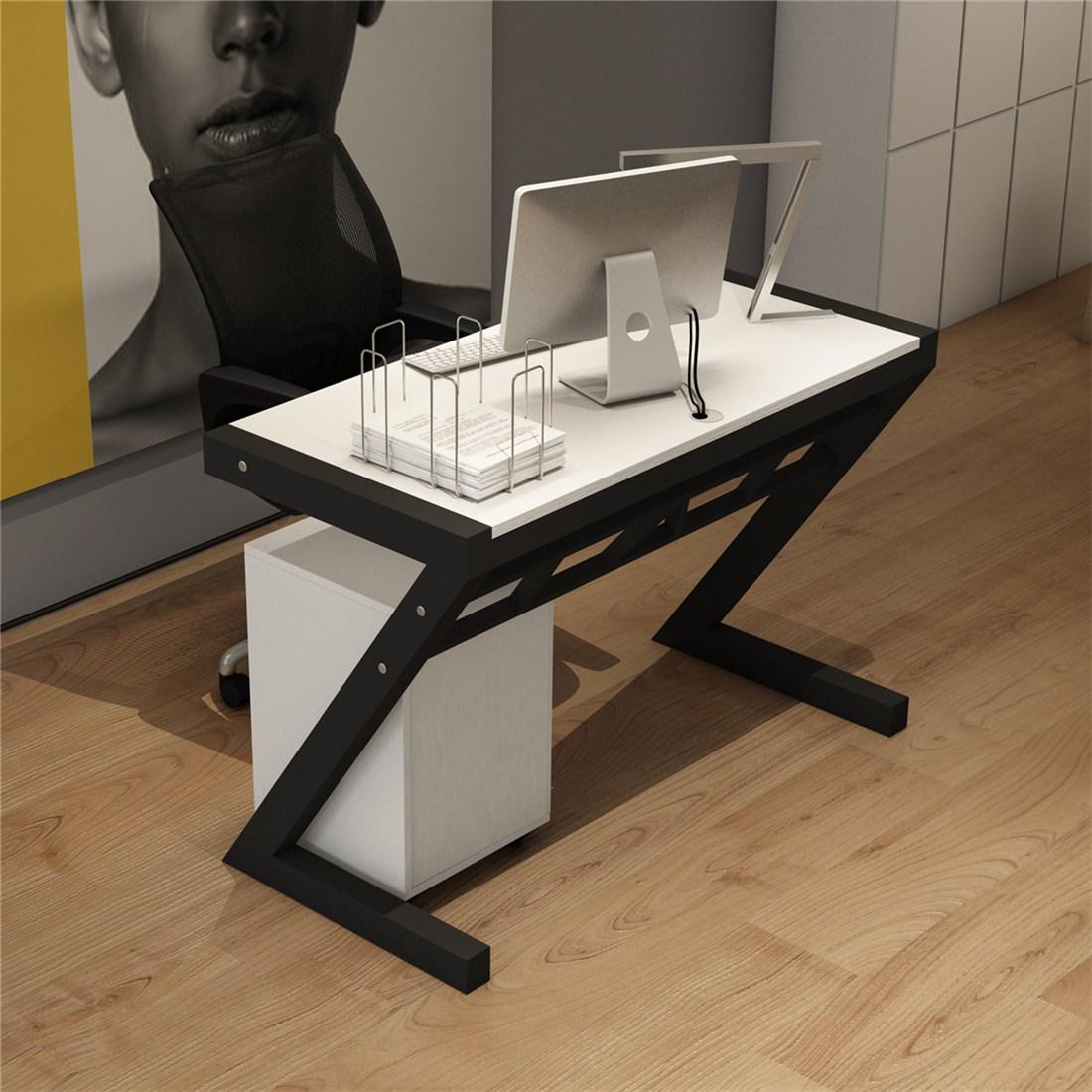 사무용의자 사무실테이블 의자조합 직원 작업공간 사륙 인용, T01-싱글(컬러)