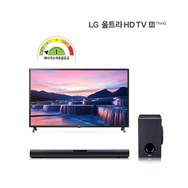 LG전자 LG 울트라HD TV 75형(189cm)+(사은품)LG정품 사운드바/75UN7850KNA, 벽걸이
