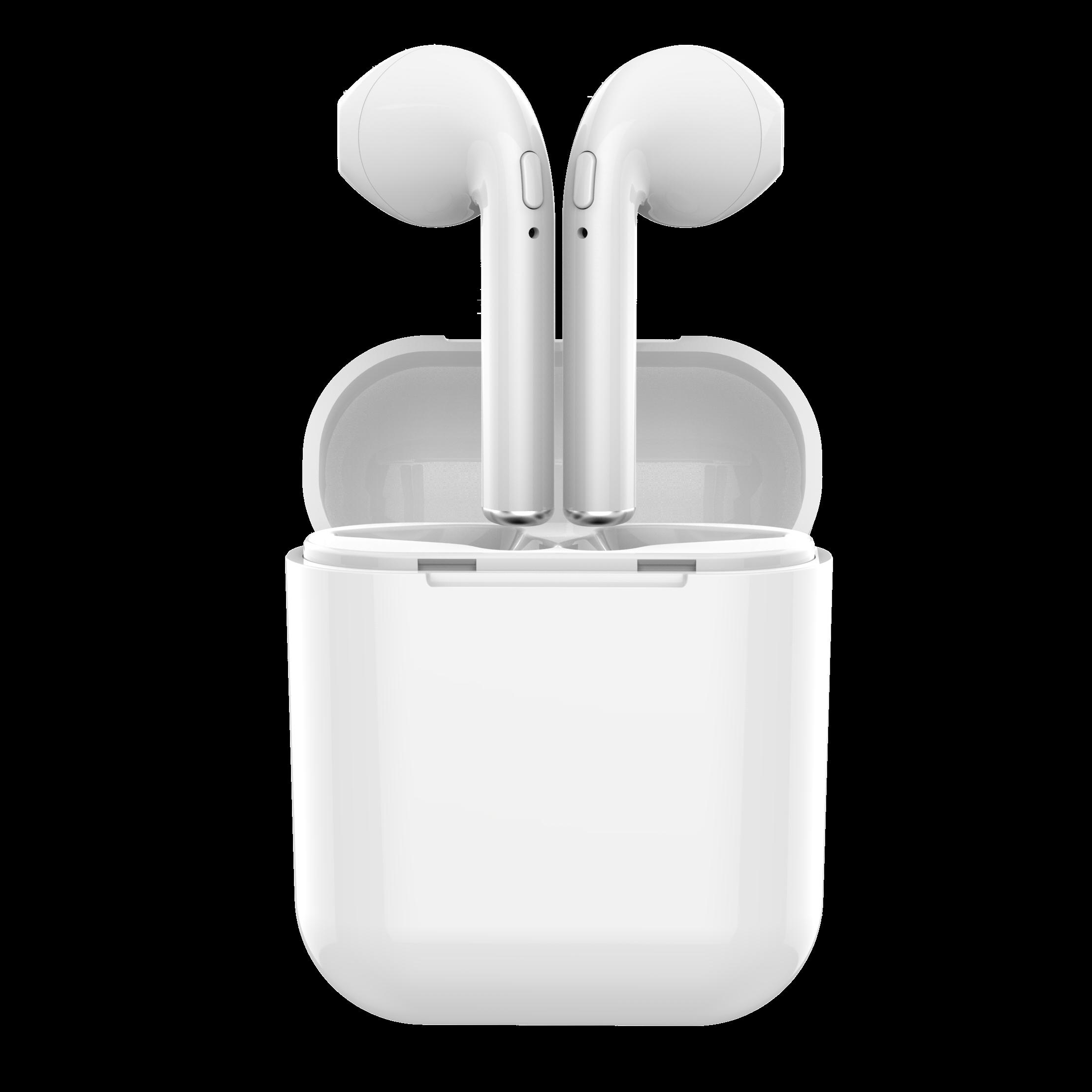 아크로 가성비 차이팟 아크로i9플러스 i10 통화음질좋은 블루투스이어폰, 화이트