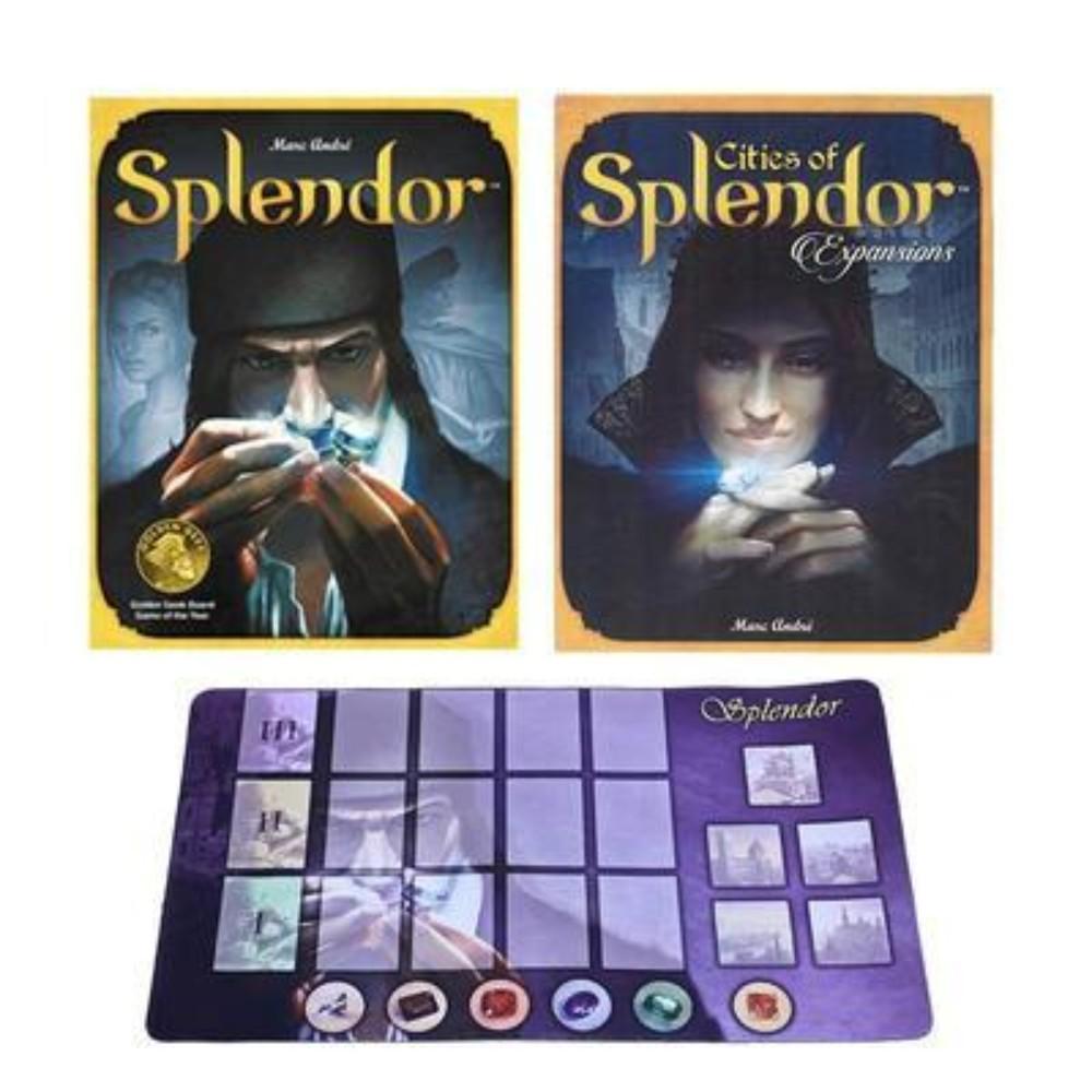 Splender 스플렌더 스플랜더확장판 영문판, 스플렌더 + 보석 확장 + 카드 패드 + 오리지널카드
